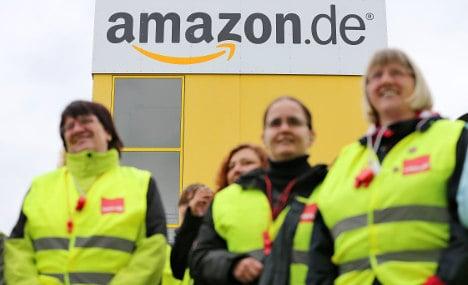 Amazon looks east, away from German strikes