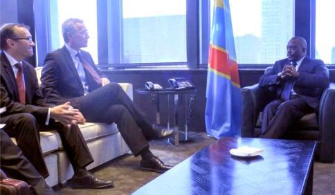 PM meets Kabila to plead for jailed Norwegian