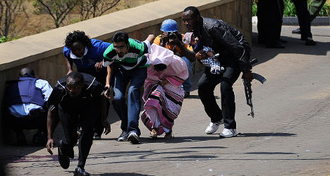 French victim talks of Nairobi siege horror