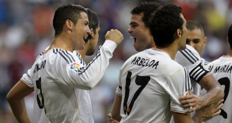 Real win as injury halts Bale's Bernabeu debut