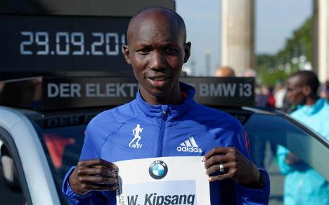 Kipsang aims for record at Berlin marathon