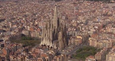 VIDEO: See Barcelona's 'finished' Sagrada Familia