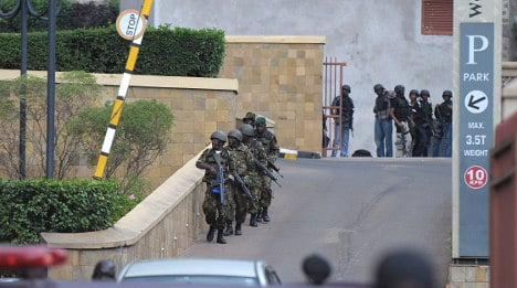 Two French citizens killed in Nairobi attack