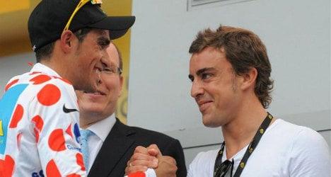 Fernando Alonso puts brakes on cycling dream