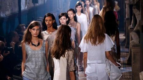 Paris fashion ducks dearth of black models