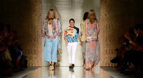 Etro brings hippy chic to Milan catwalks