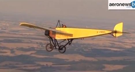 VIDEO: Pilot replicates historic flight across Med