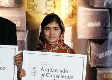 Malala world's favourite for Nobel Peace Prize