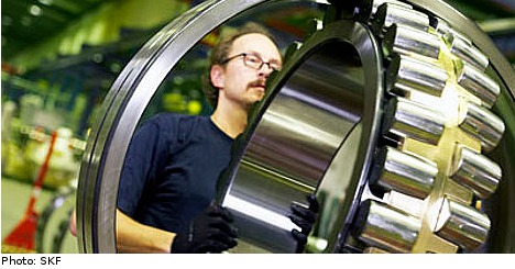 Industry bails on Swedish ball bearings