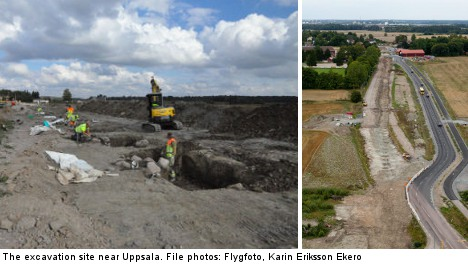 Uppsala unearths pagan road of old kings