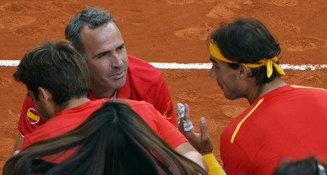 Spain dumps Davis Cup coach Alex Corretja