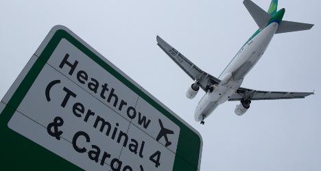 Spain's Ferrovial trims stake in Heathrow airport
