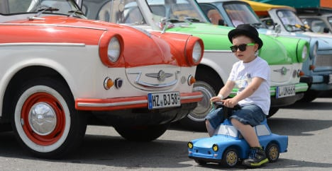 The enduring appeal of East Germany's Trabi