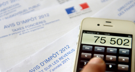 'We pay too much in taxes', plead the French