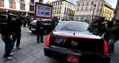 Spain eyes criminal probe into US spying