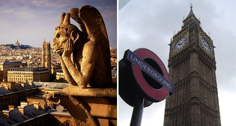 Ten reasons why Paris is better than London