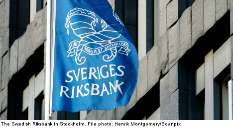 Riksbank keeps rates stable amid slow growth