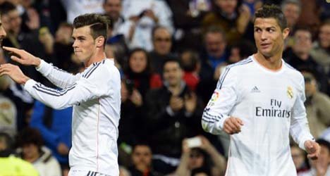 Bale and Ronaldo star as Real hammer Sevilla