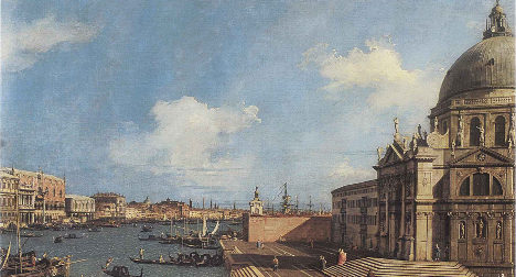 Canaletto work returns to abbey after 270 years