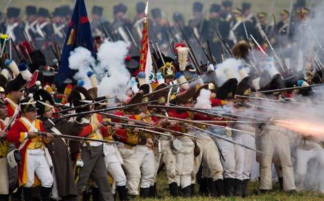 Germany recreates historic Napoleon battle