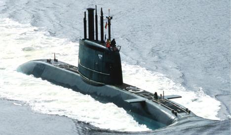 Germans look to sink Swedish sub maker