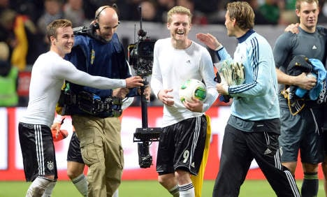 Germany and Sweden in eight-goal thriller again