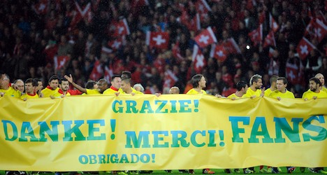 Swiss end Group E football on high note