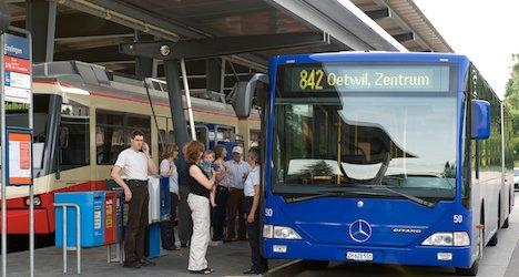 Senior fights for life after Zurich bus stop crash