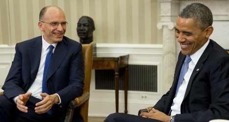 Italian PM praises Obama over debt deal