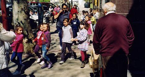 Spain's 'starving' school kids shock Europe