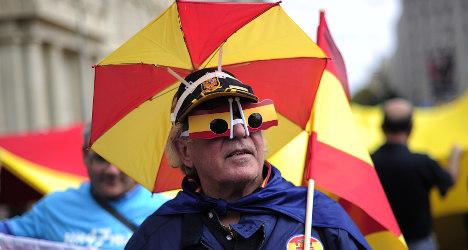 'Silent majority' rallies for Spanish Catalonia