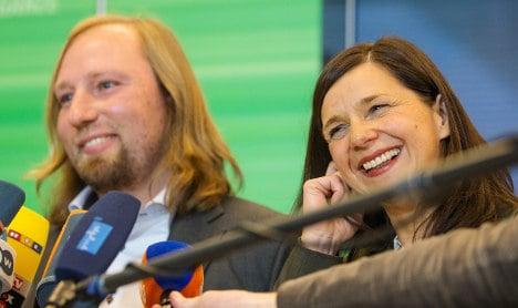 Greens elect leader and prepare for Merkel talks