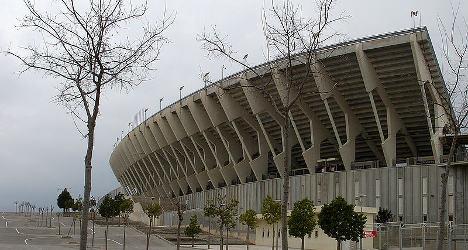 Explosion rocks stadium in Spain match lead-up