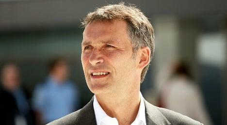 Norwegian PM steps down for new gov
