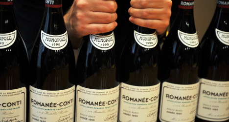 Italians behind fake French wine scam