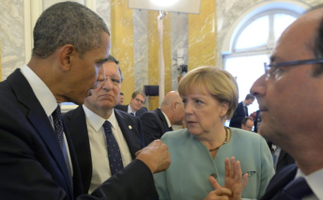 Merkel: Spying among allies 'not on'