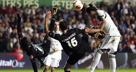 St. Gallen loses hard-fought match at Swansea