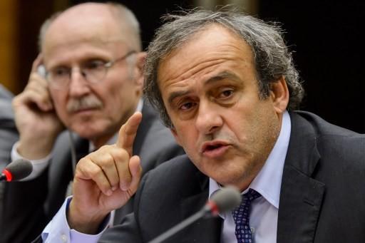 UEFA's Platini urges fight against football racism