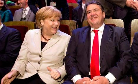 Merkel and SPD agree on coalition talks