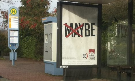 Germany bans Marlboro 'Maybe' cigarette ads