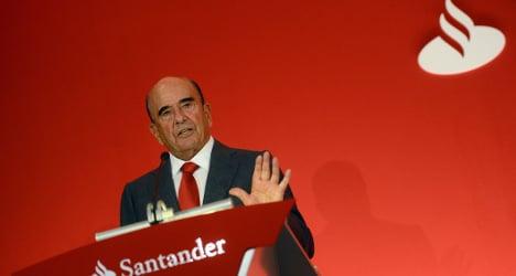 Santander notches up billion euro profit