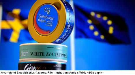 EU snuffs it in Swedish snus aroma battle