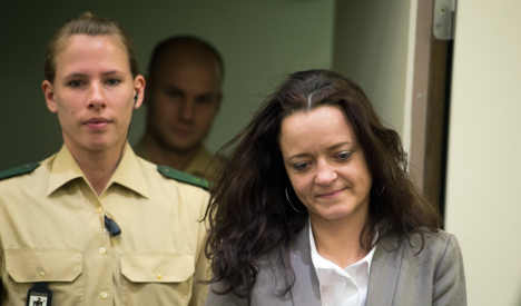 Neo-Nazi defendant does crosswords during trial