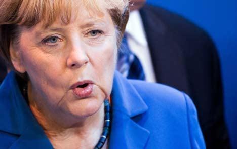 Merkel: I love singing traditional tunes