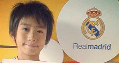VIDEO: Real Madrid snap up Japanese wonderkid