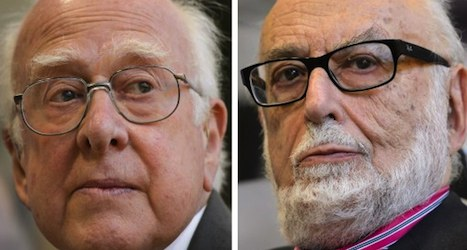 Geneva lab celebrates physicists' Nobel Prize
