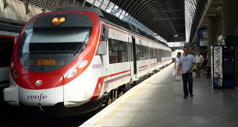 Rail strikes to limit Spain's train services