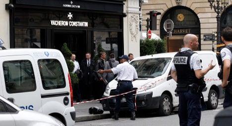 Axe gang hits luxury watch store in Paris