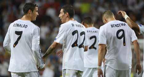Ronaldo double sees Real ease past Danes