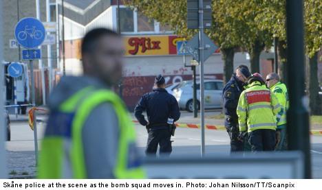 Bomb scare prompts Malmö school evacuation